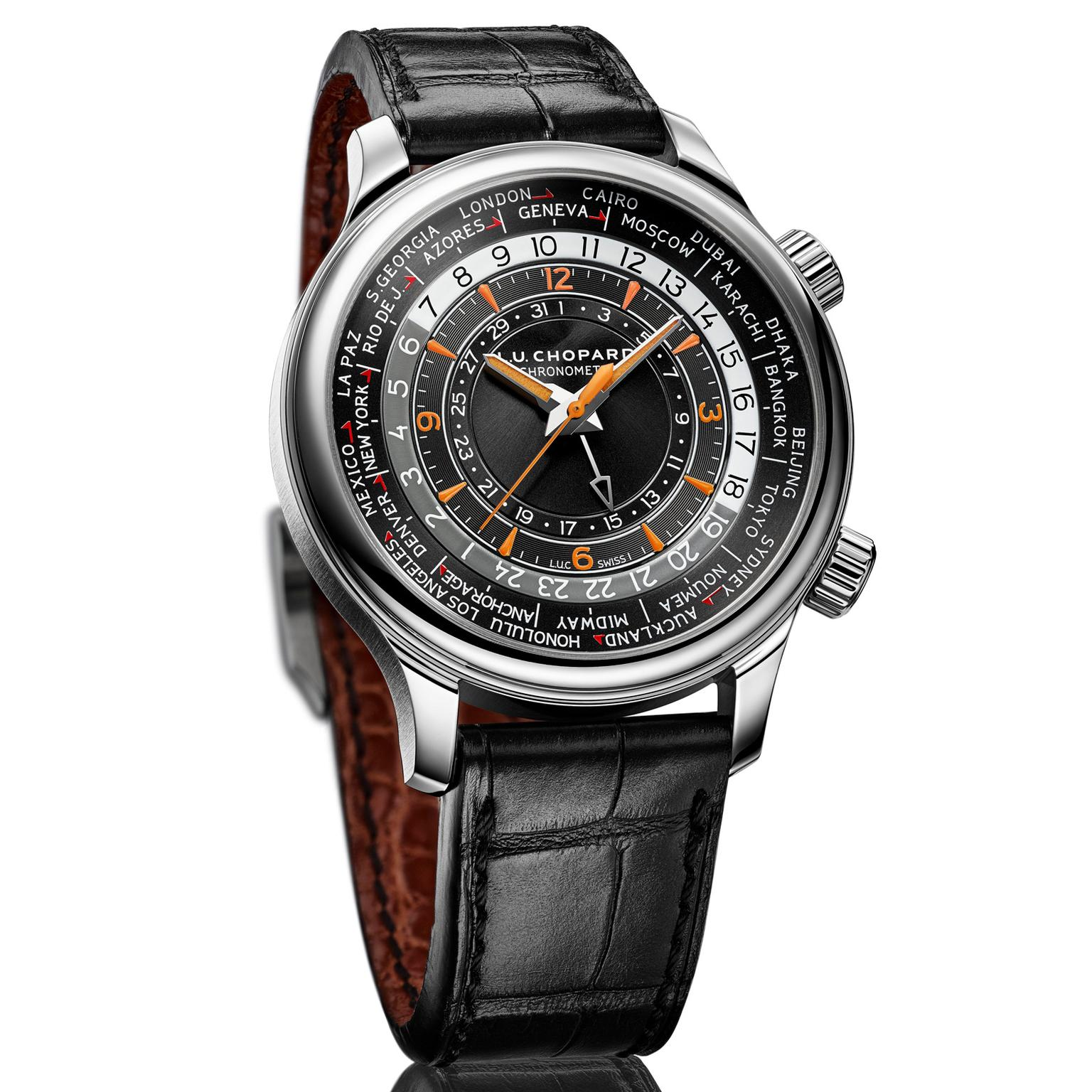 Chopard L.U.C Time Traveler One watch in steel
