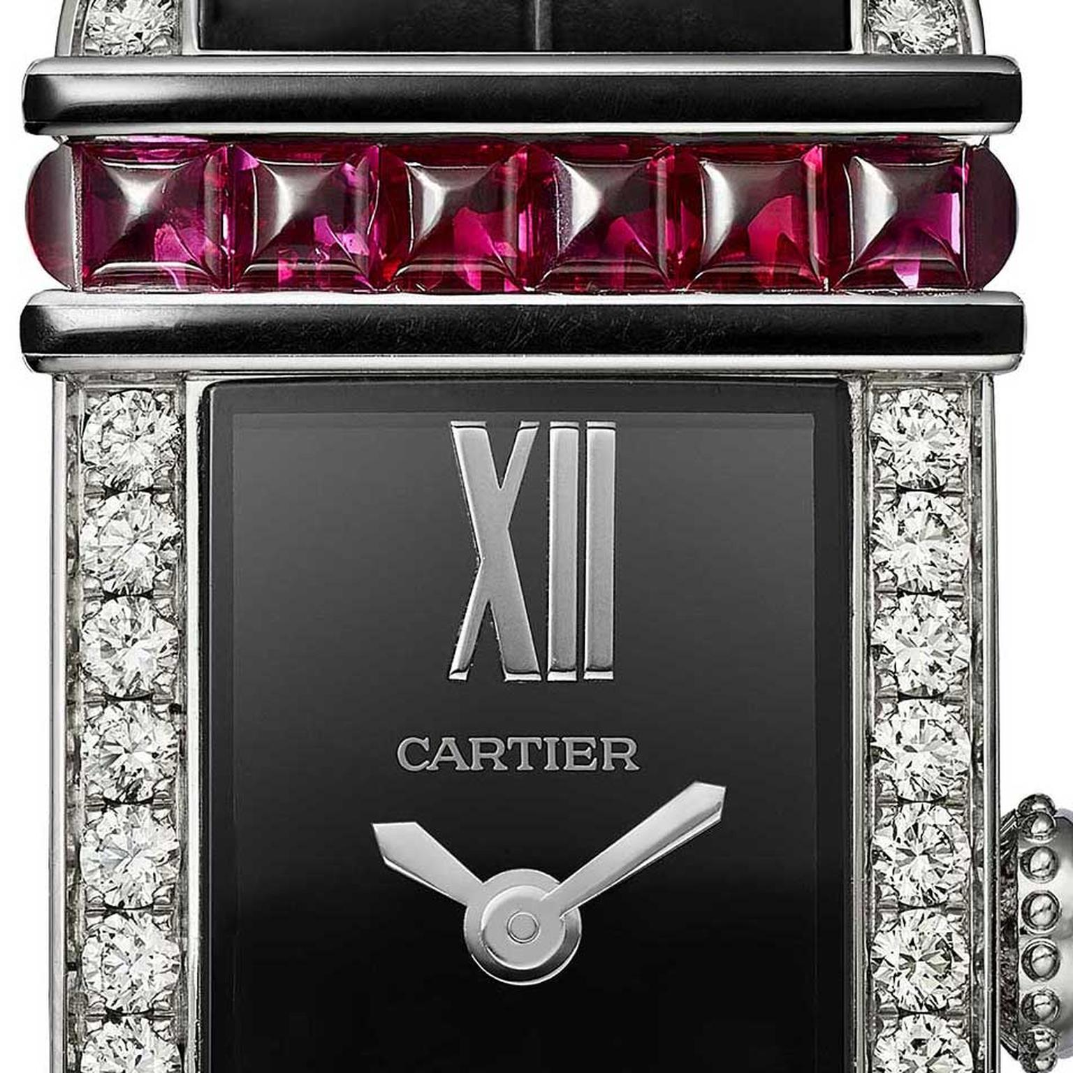 Cartier Libre Tank Chinoise rubies and diamonds 2019