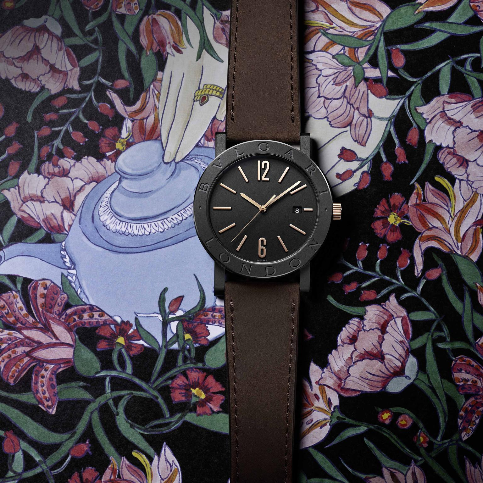 Bulgari BB city watch London illustration