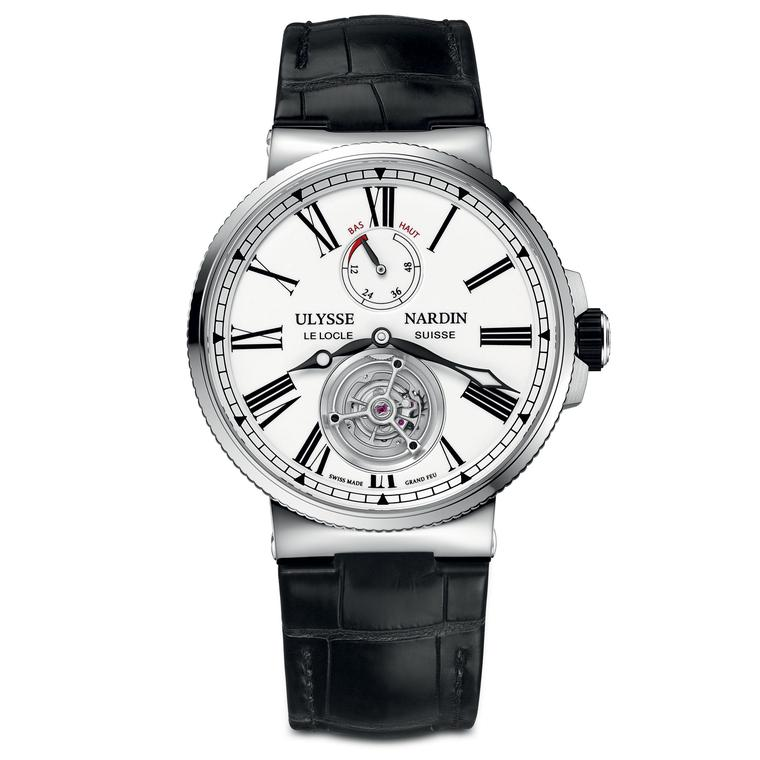 Ulysse Nardin Marine Tourbillon Grand Feu watch for men