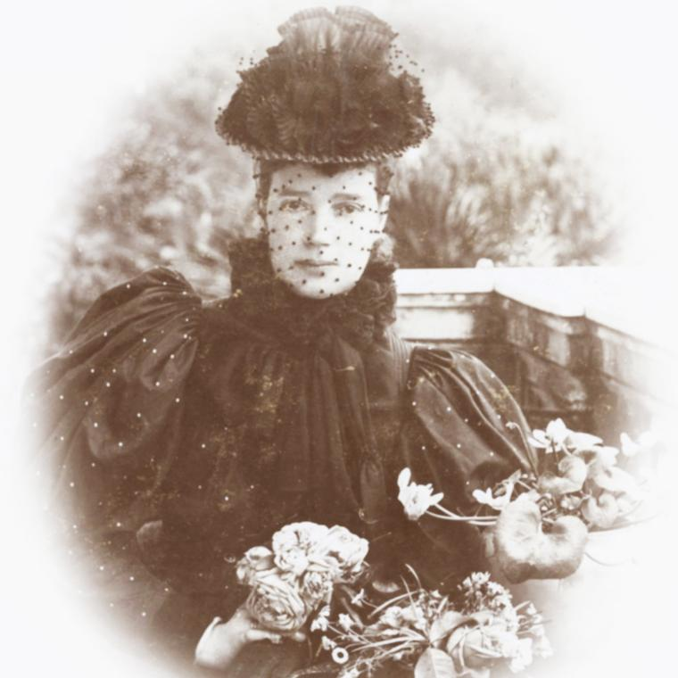 Photograph of Tsarina Maria Feodorvna, a loyal customer of Faberge