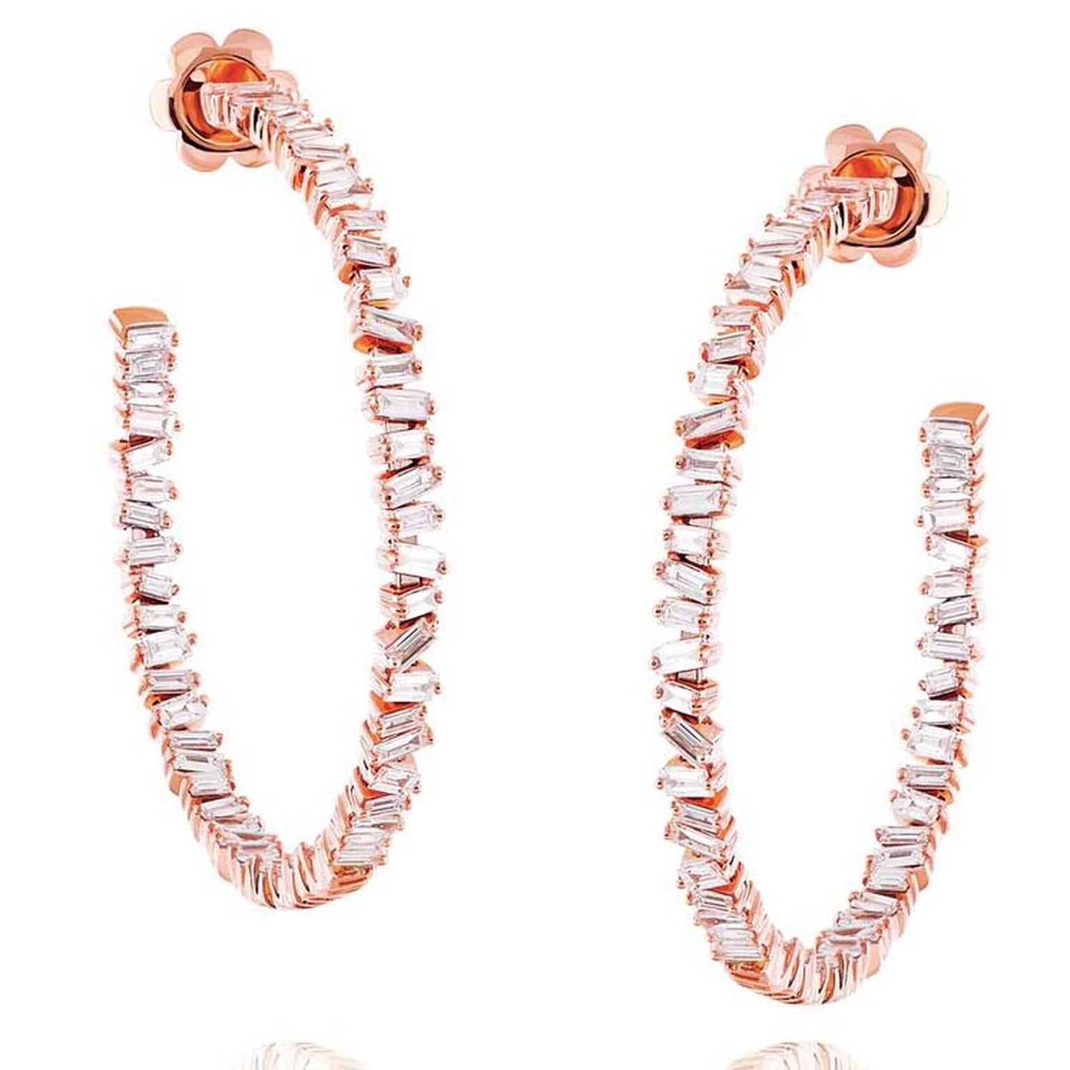 Suzanne Kalan Fireworks Signature hoop earrings