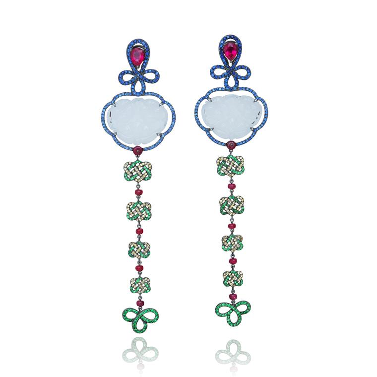 Lydia Courteille Automne a Pekin earrings
