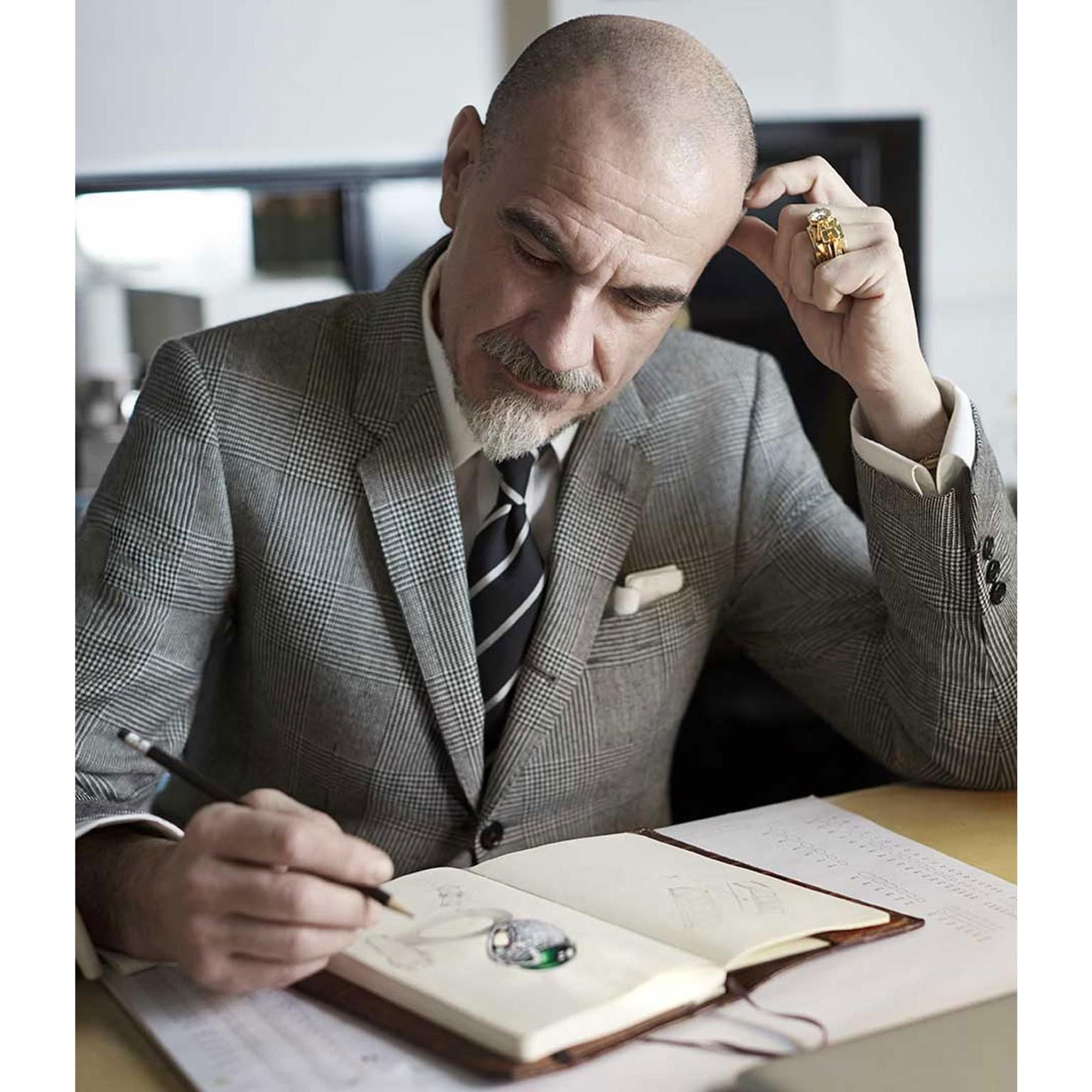 Giampiero Bodino sketching: a master at work