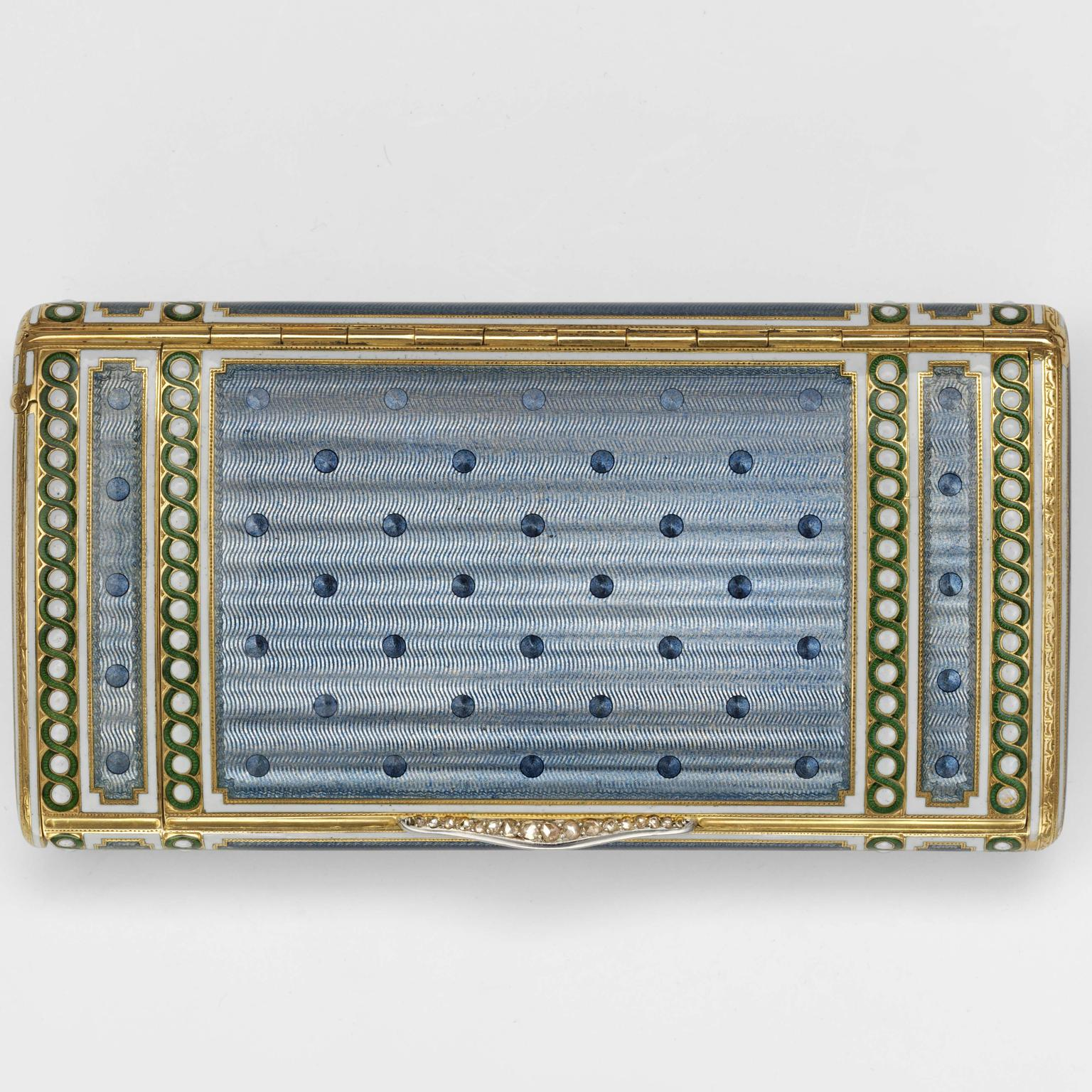 1907 Cartier cigarette case