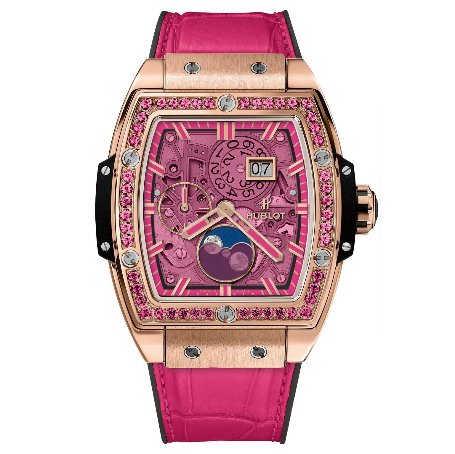 Hublot Spirit of Big Bang Moonphase King Gold Pink