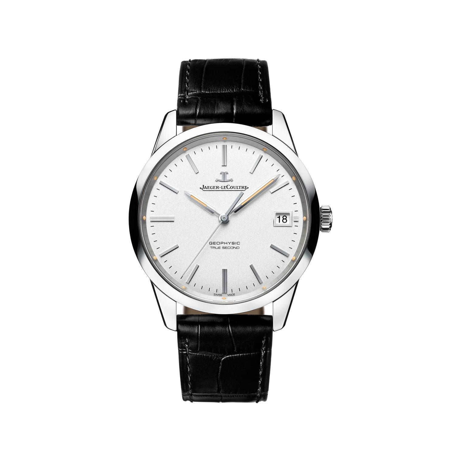 Jaeger-LeCoultre Geophysic True Second watch ss