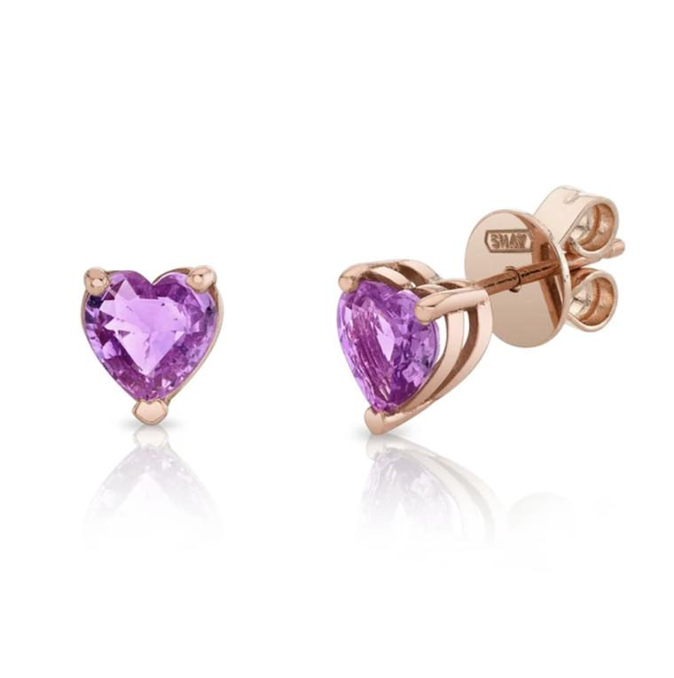 Heart studs by Shay