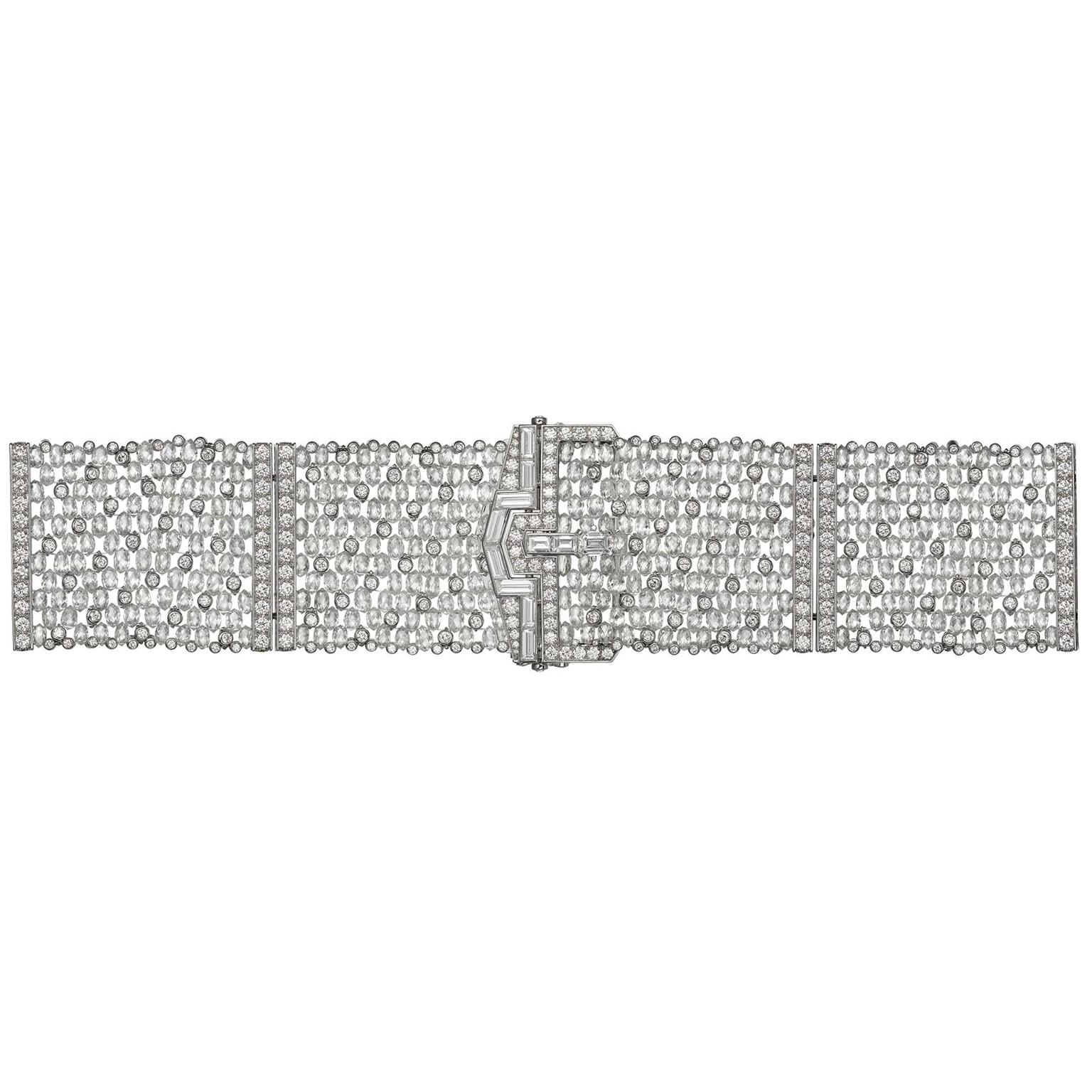 Cartier Étourdissant Diamas high jewellery diamond bracelet