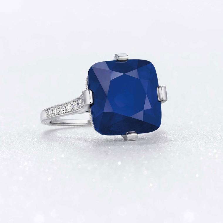 The Majestic Blue Sapphire ring
