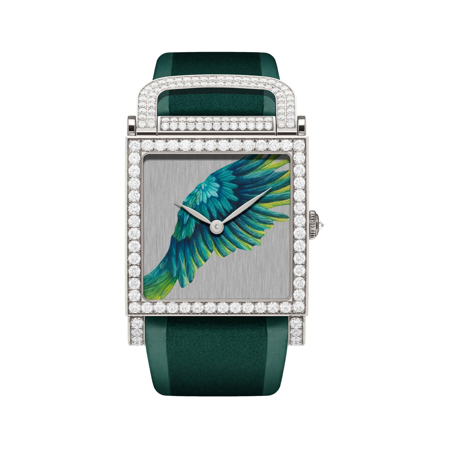 DeLaneau Dôme Parrot Wing watch
