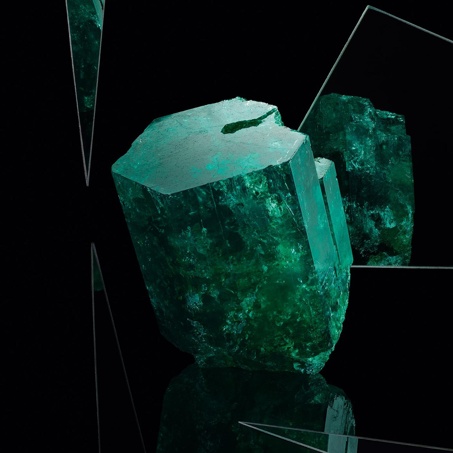 Muzo rough emerald