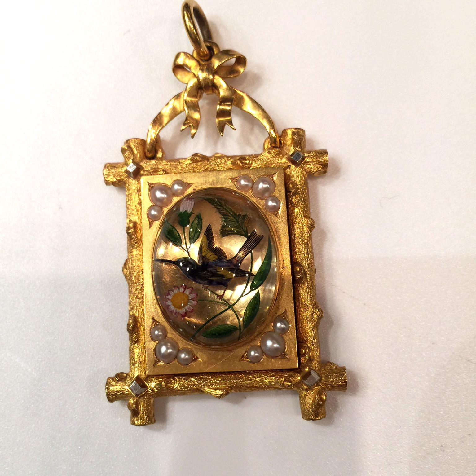 James Robinson antique pendant