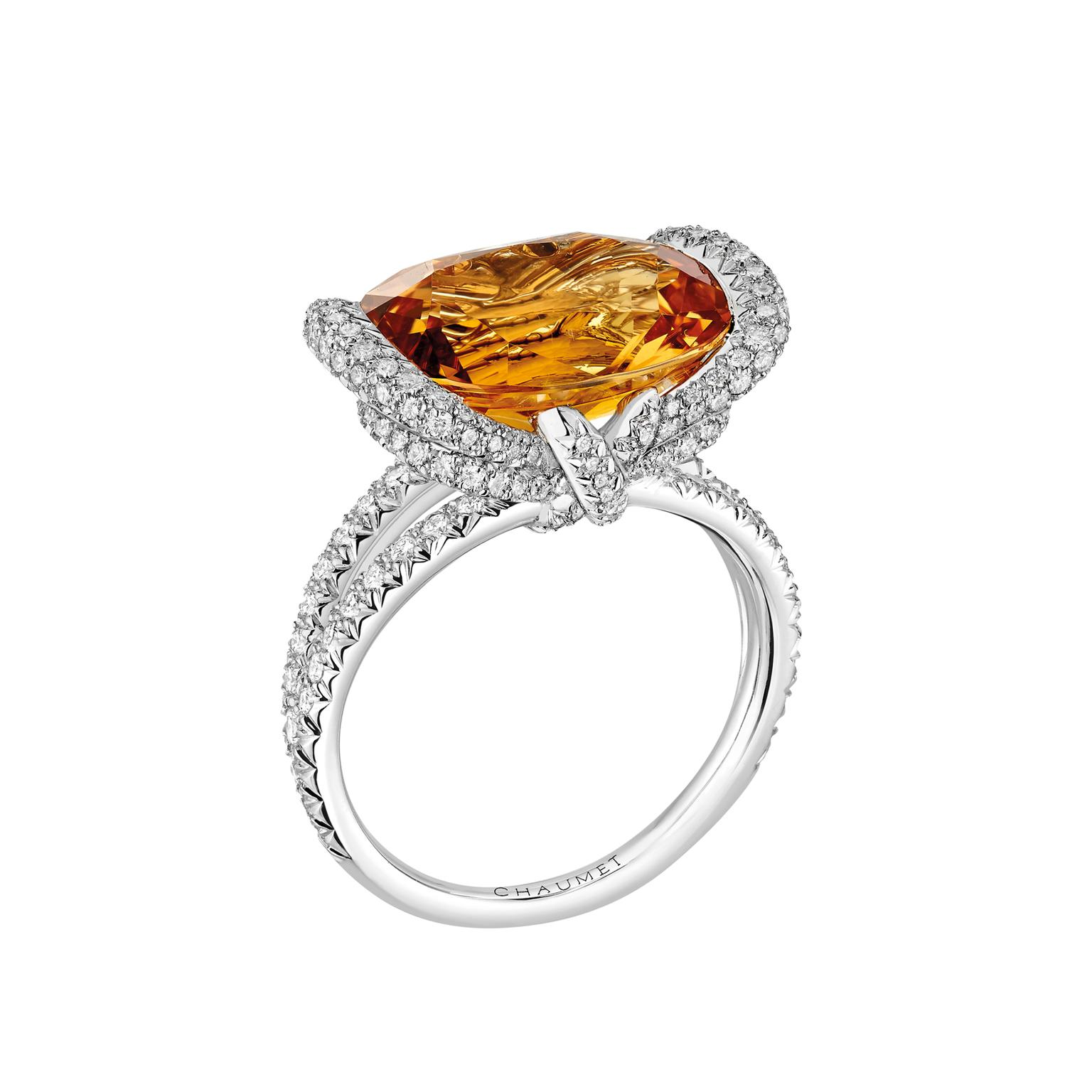 Chaumet Liens d'Amour topaz ring