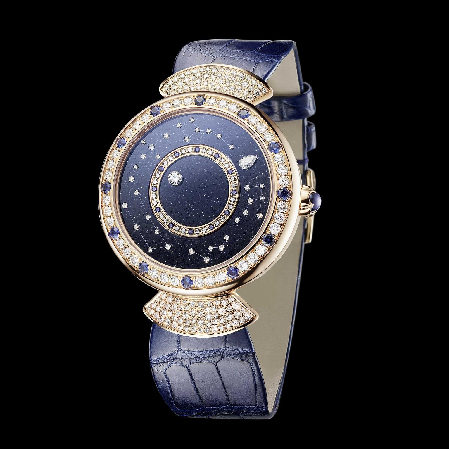 bulgari Divas Dream Roman Nights rose gold watch