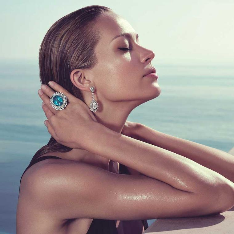 Chopard teams up with supermodel Petra Nemcova for a summertime shoot