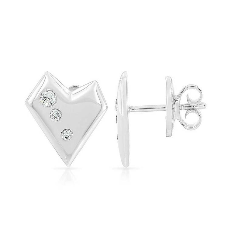 Kat Florence True Romance diamond stud earrings