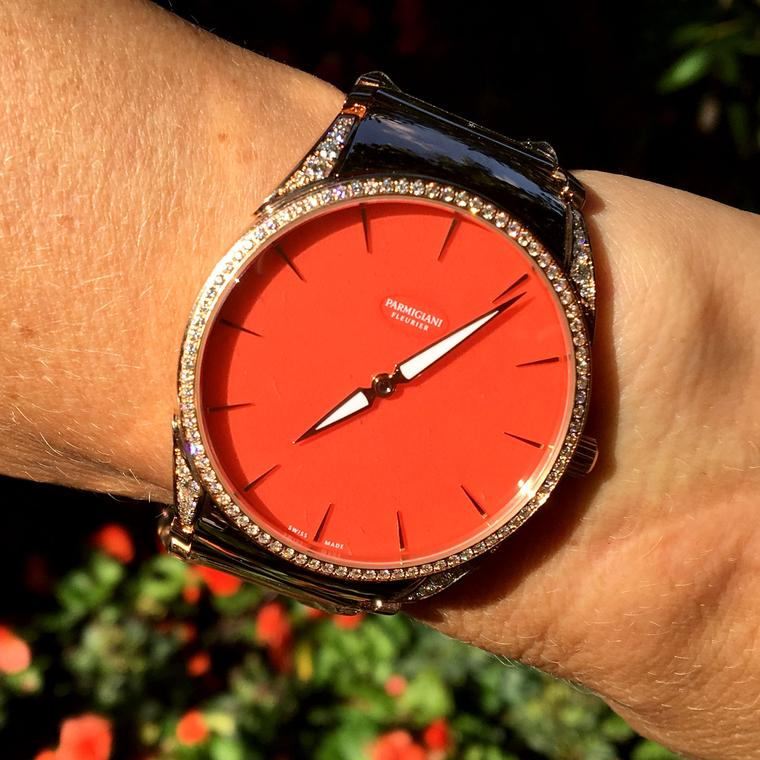 Parmigiani Fleurier Tonda 1950 Poppy in London