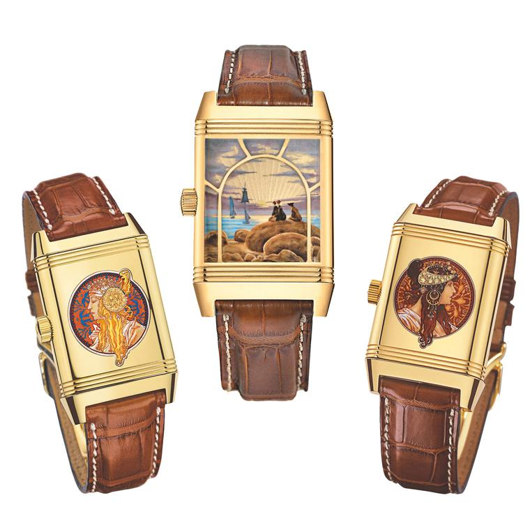 Jaeger-LeCoultre recreates famous artworks on dials