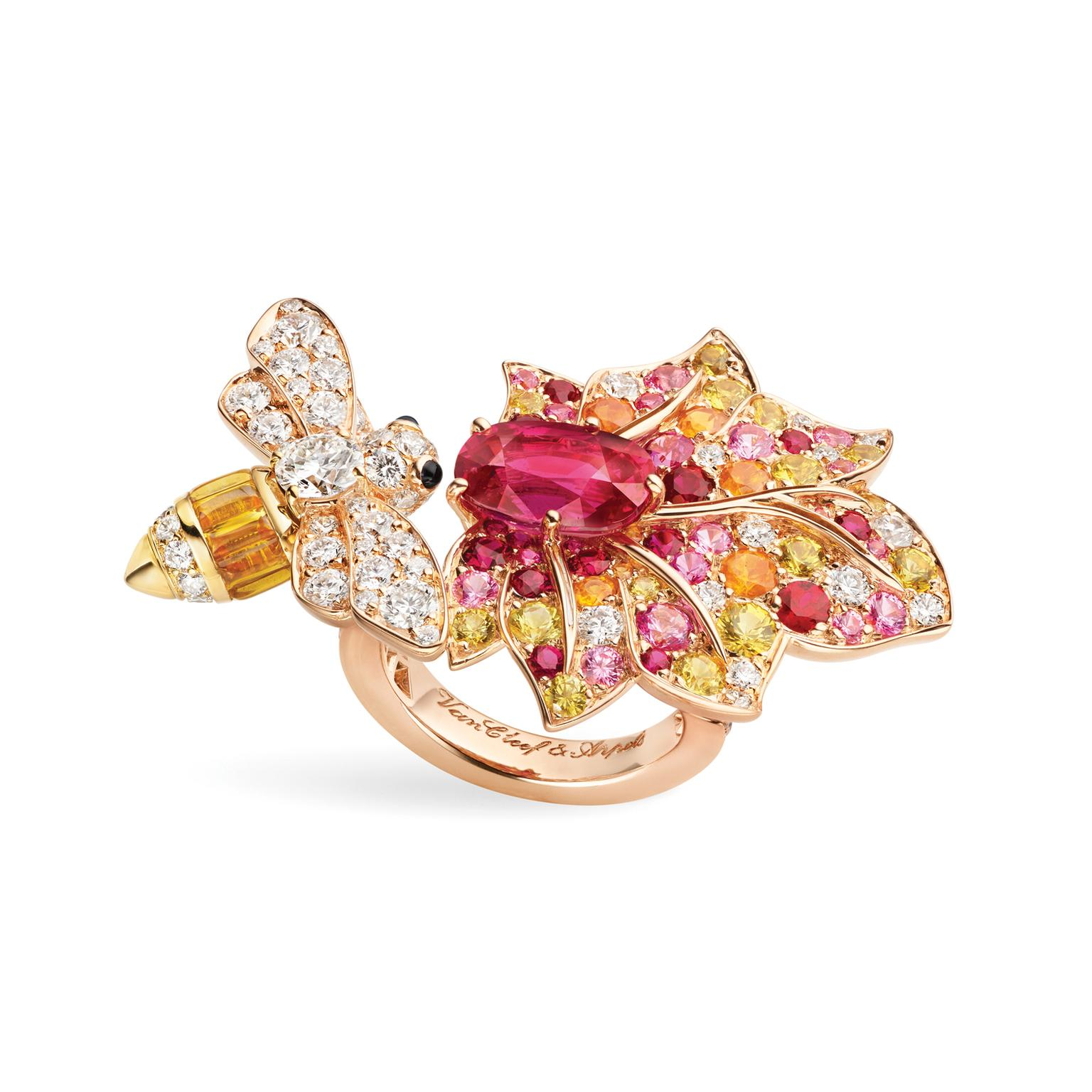 Van Cleef & Arpels Le Secret Believe in Luck Between the Finger ring