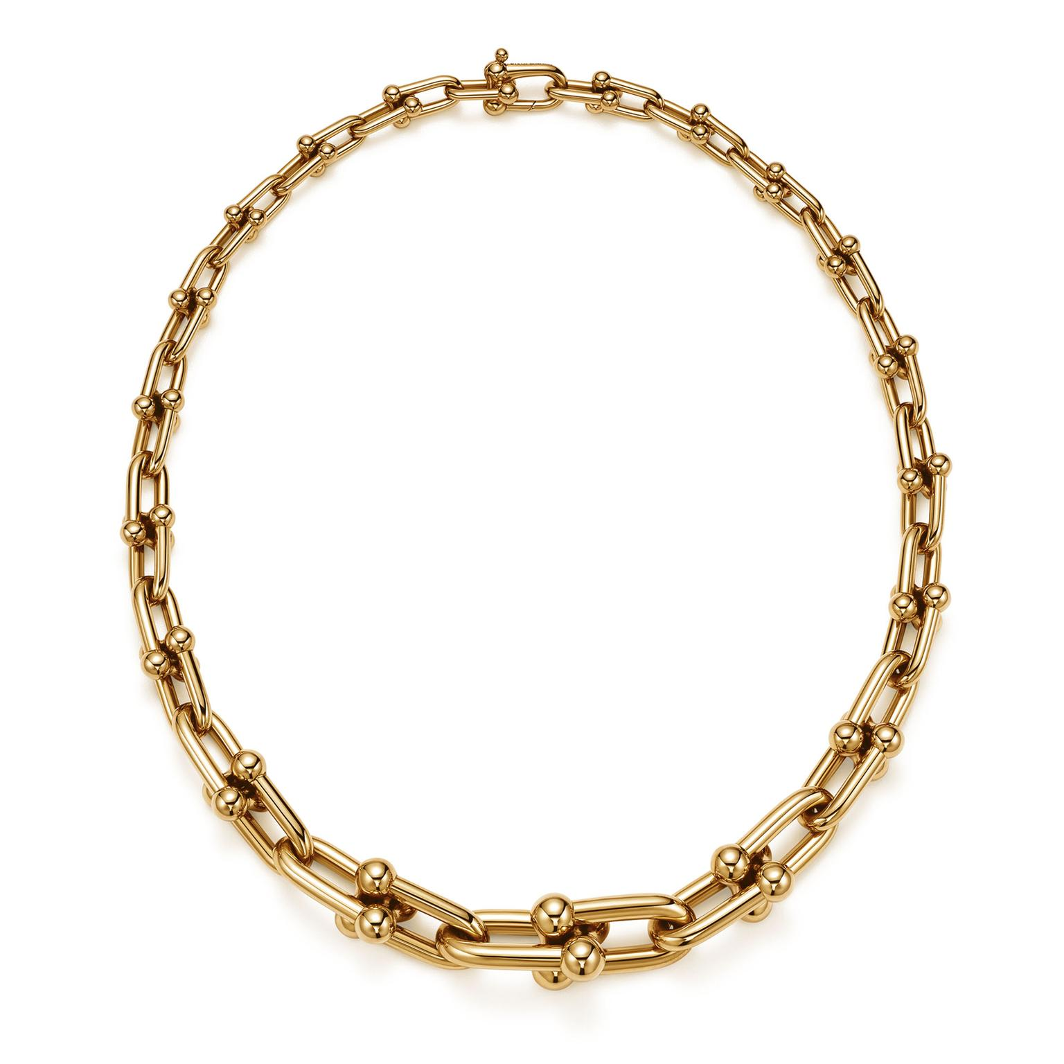 Tiffany City Hardwear gold necklace
