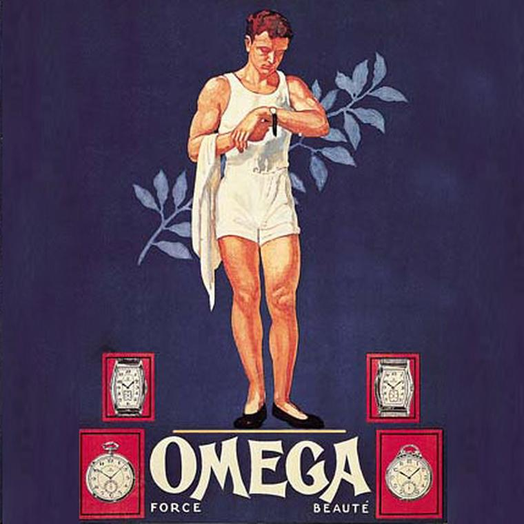 Omega Olympics Poster 1932 Los Angeles