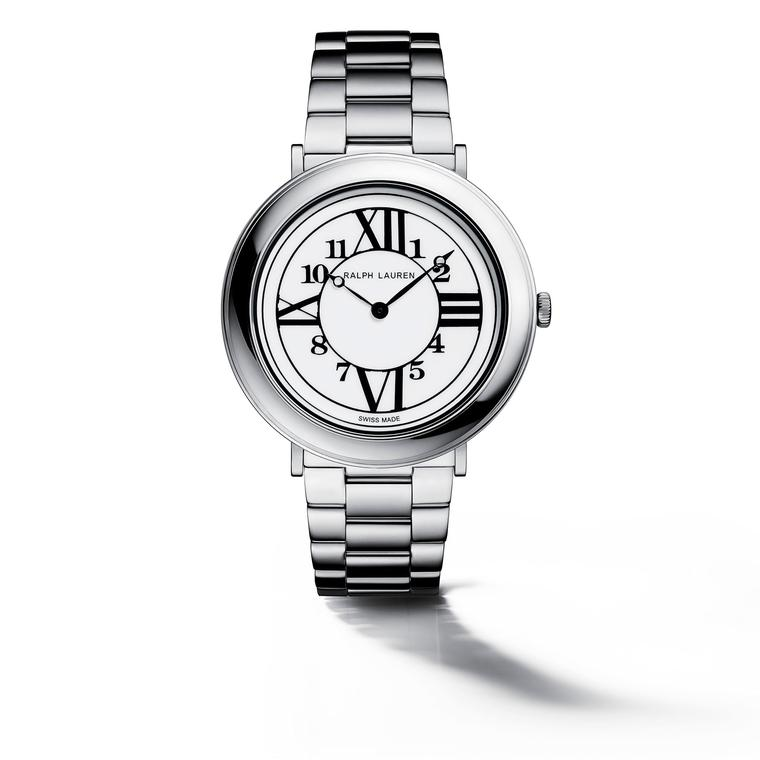 RL888 38mm watch in steel with steel bracelet