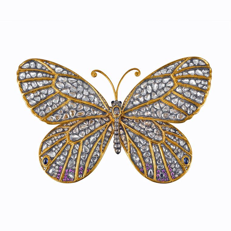 Dickson Yewn butterfly brooch