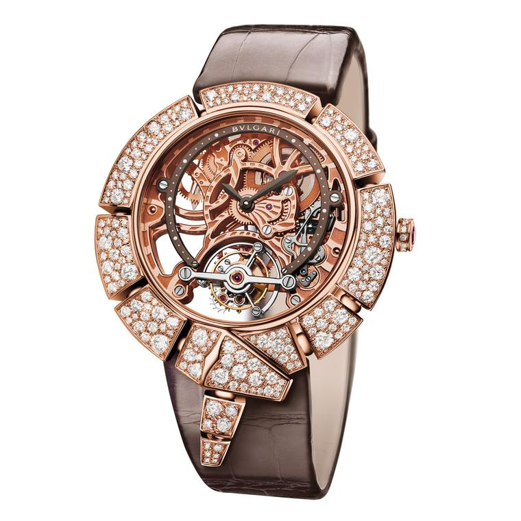 Bulgari Serpenti Incantati Tourbillon Lumière watch