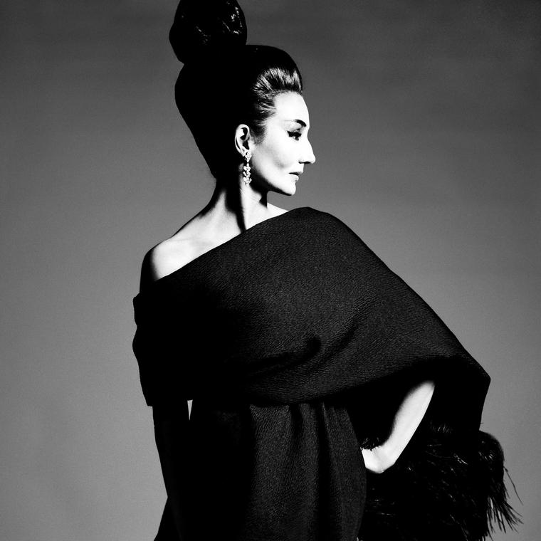 Jacqueline de Ribes exhibition by Richard Avedon