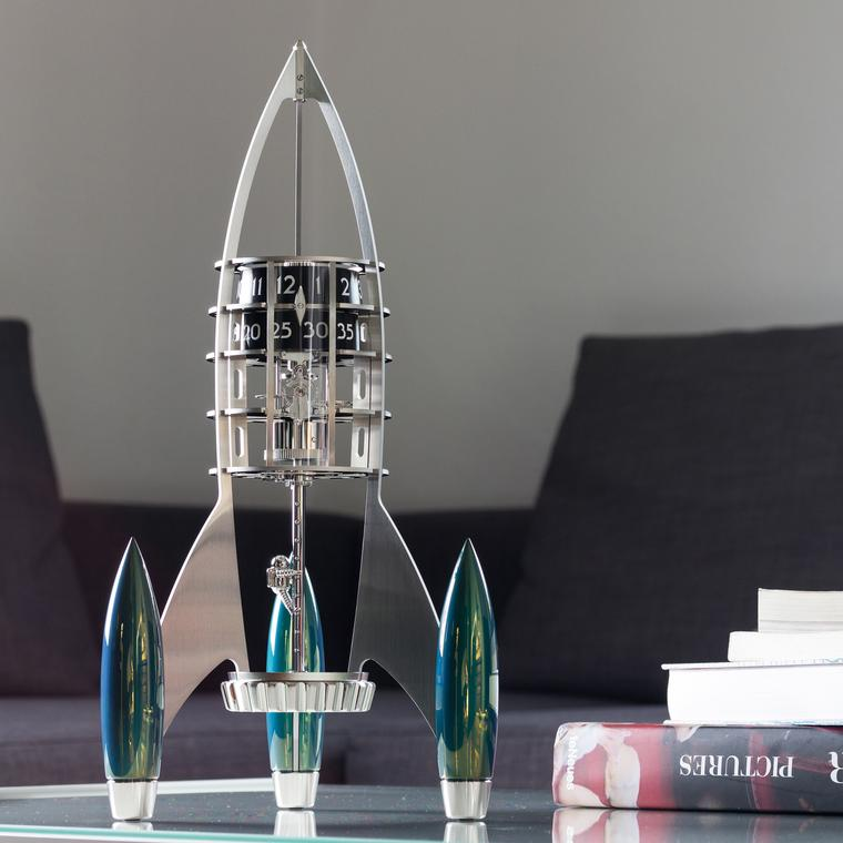 MB&F Destination Moon table clock