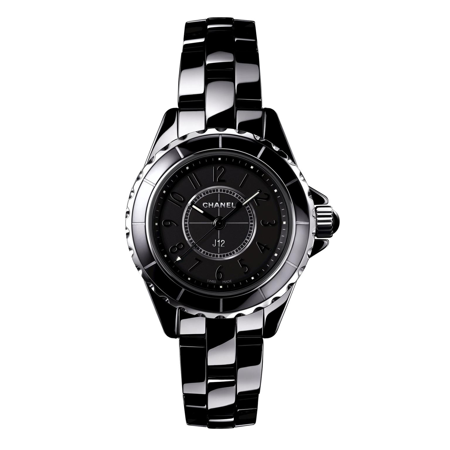 Chanel J12 Intense Black watch