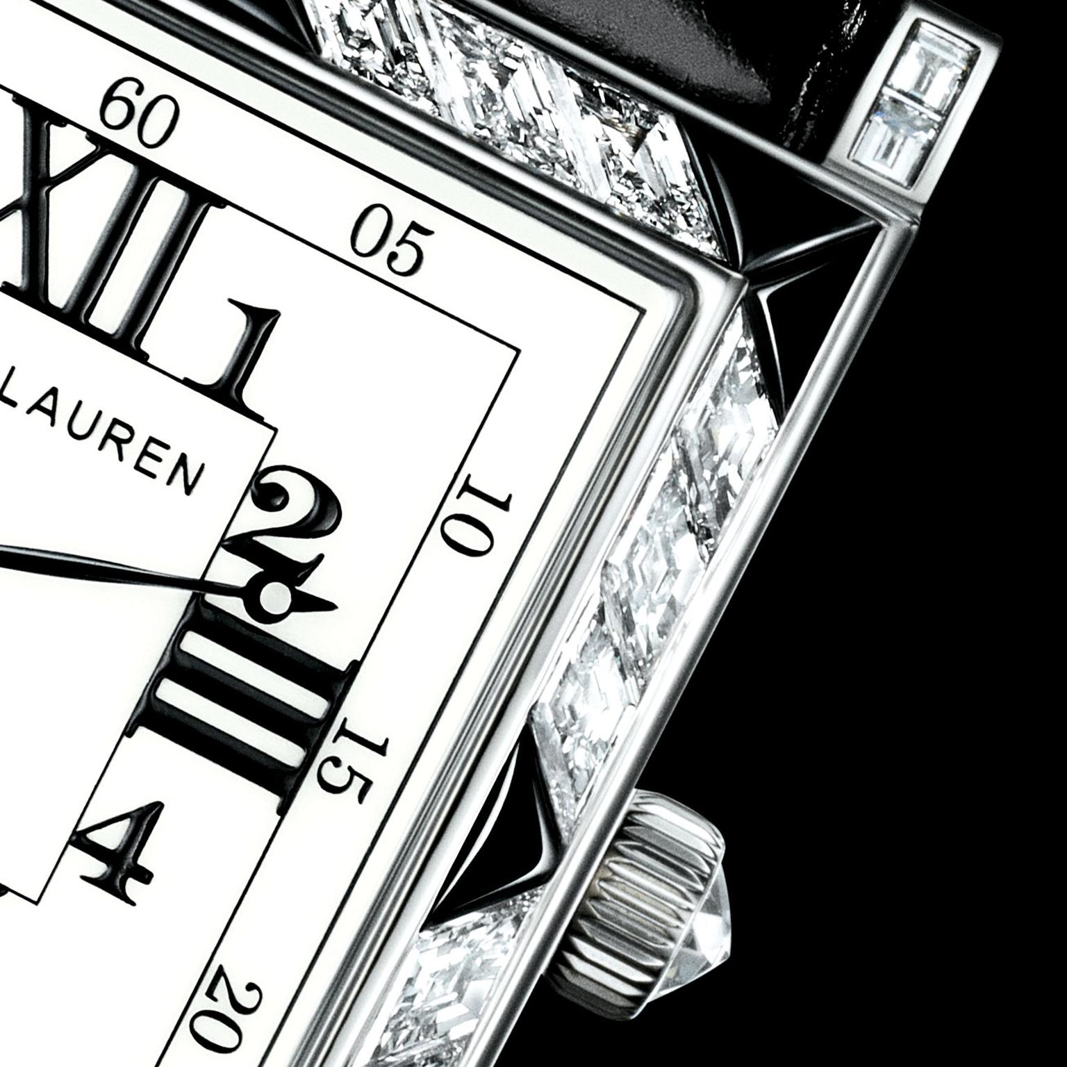 Ralph Lauren 867 Deco Diamond watch dial
