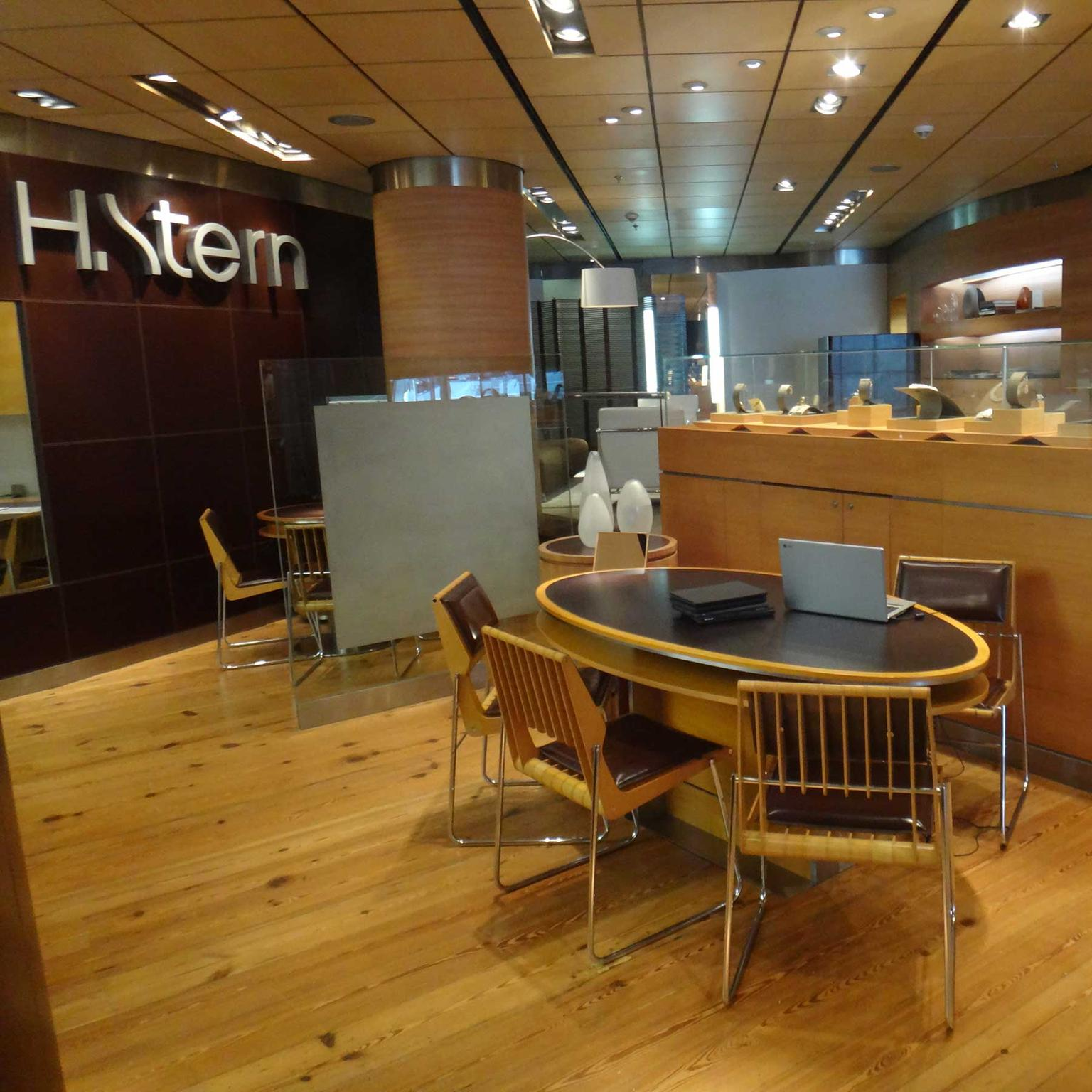 H.Stern boutique - interior