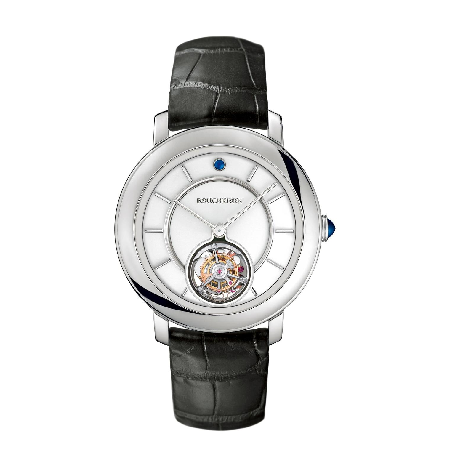 Boucheron Epure Tourbillon watch