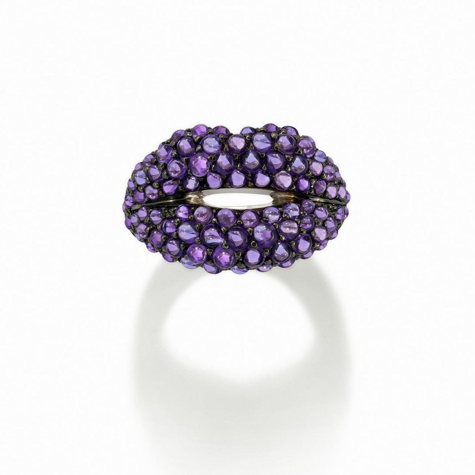 Solange Azagury-Partridge Hot Lips ring