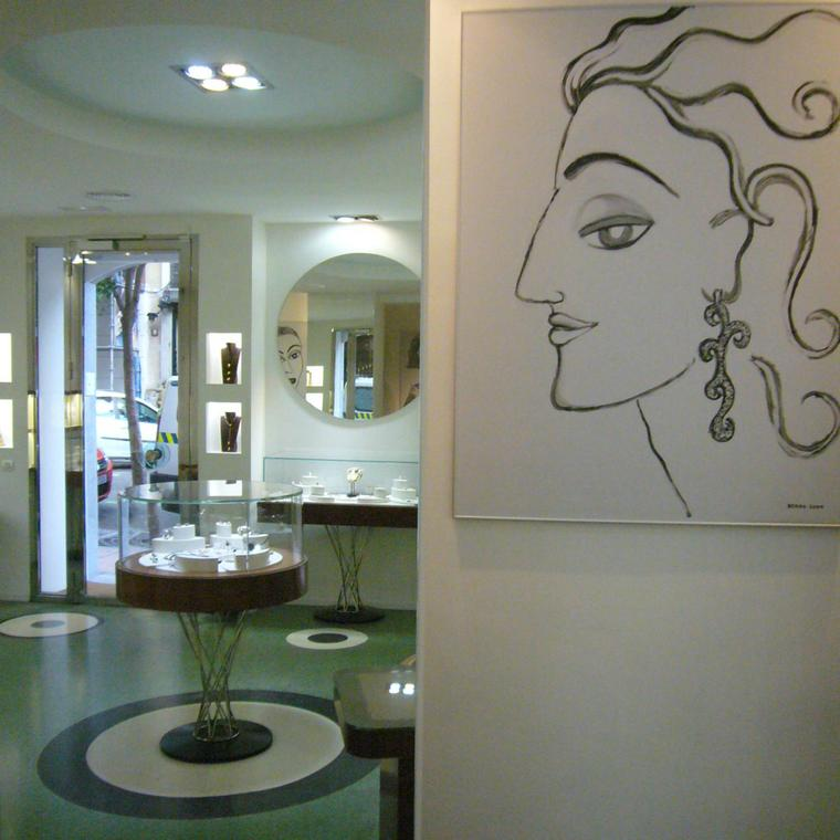 Joaquín Berao boutique in Madrid