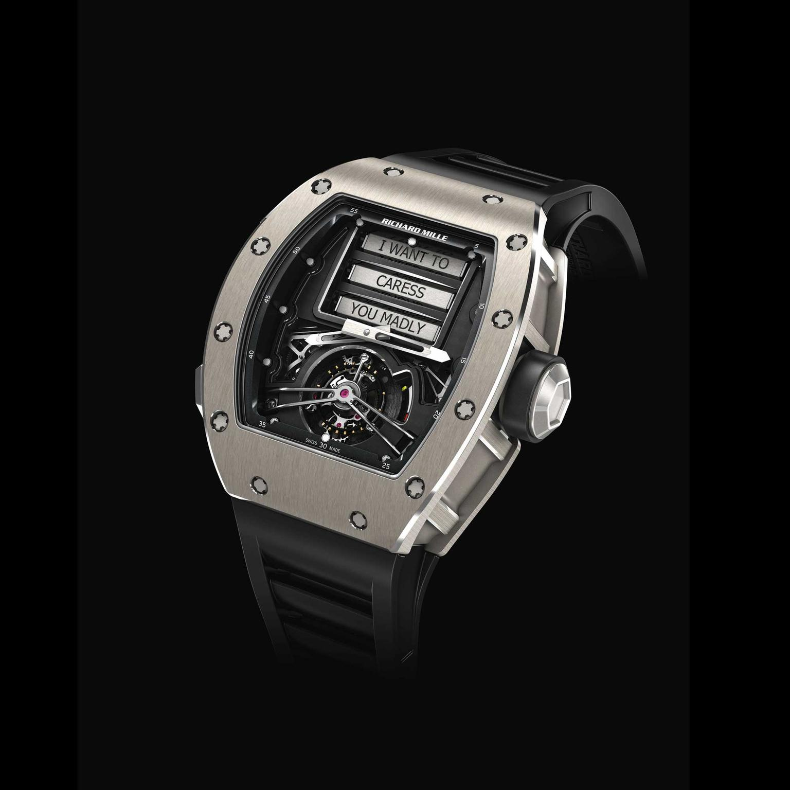 Richard Mille Tourbillon RM 69 Erotic front
