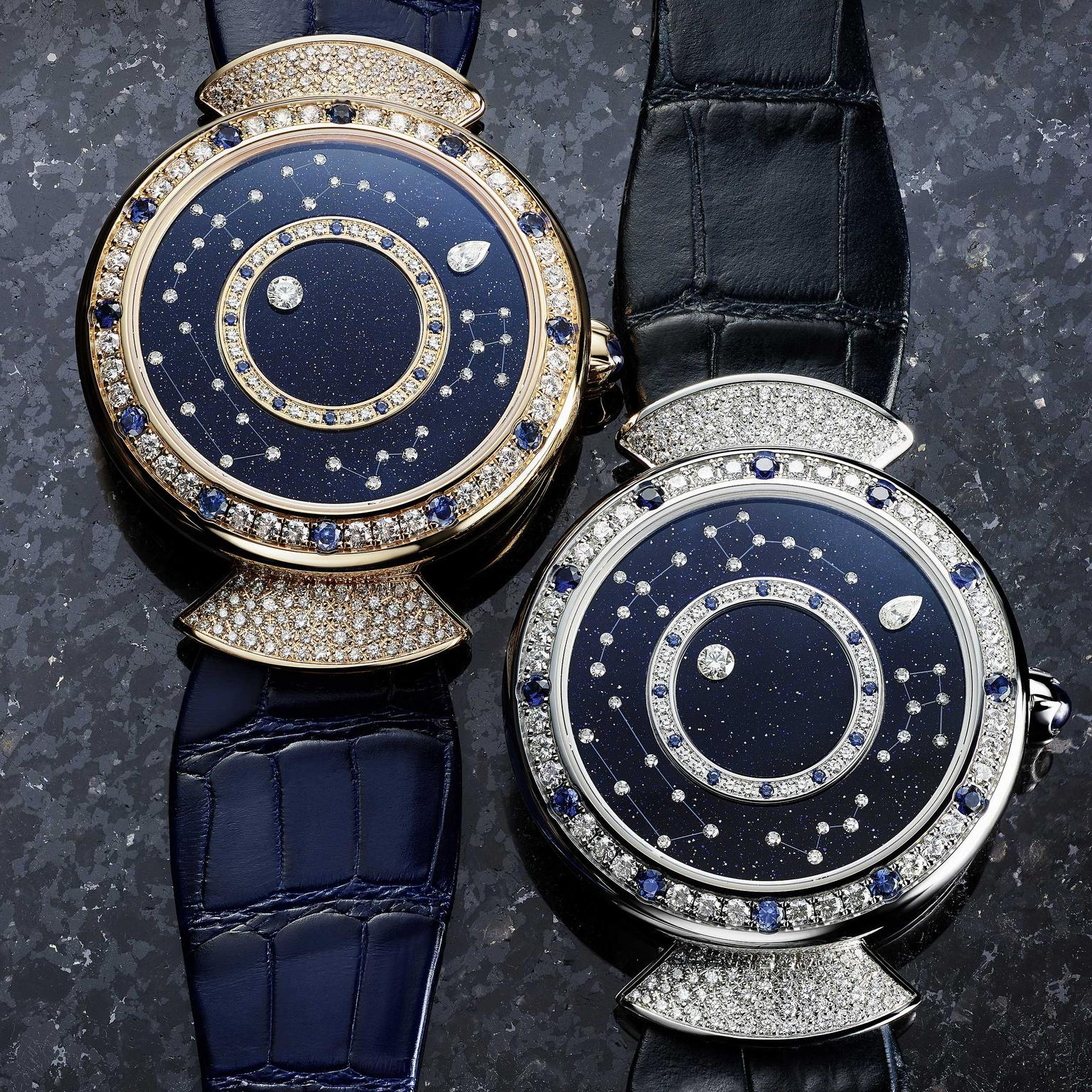 Two Bulgari Divas Dream Roman Nights Watch