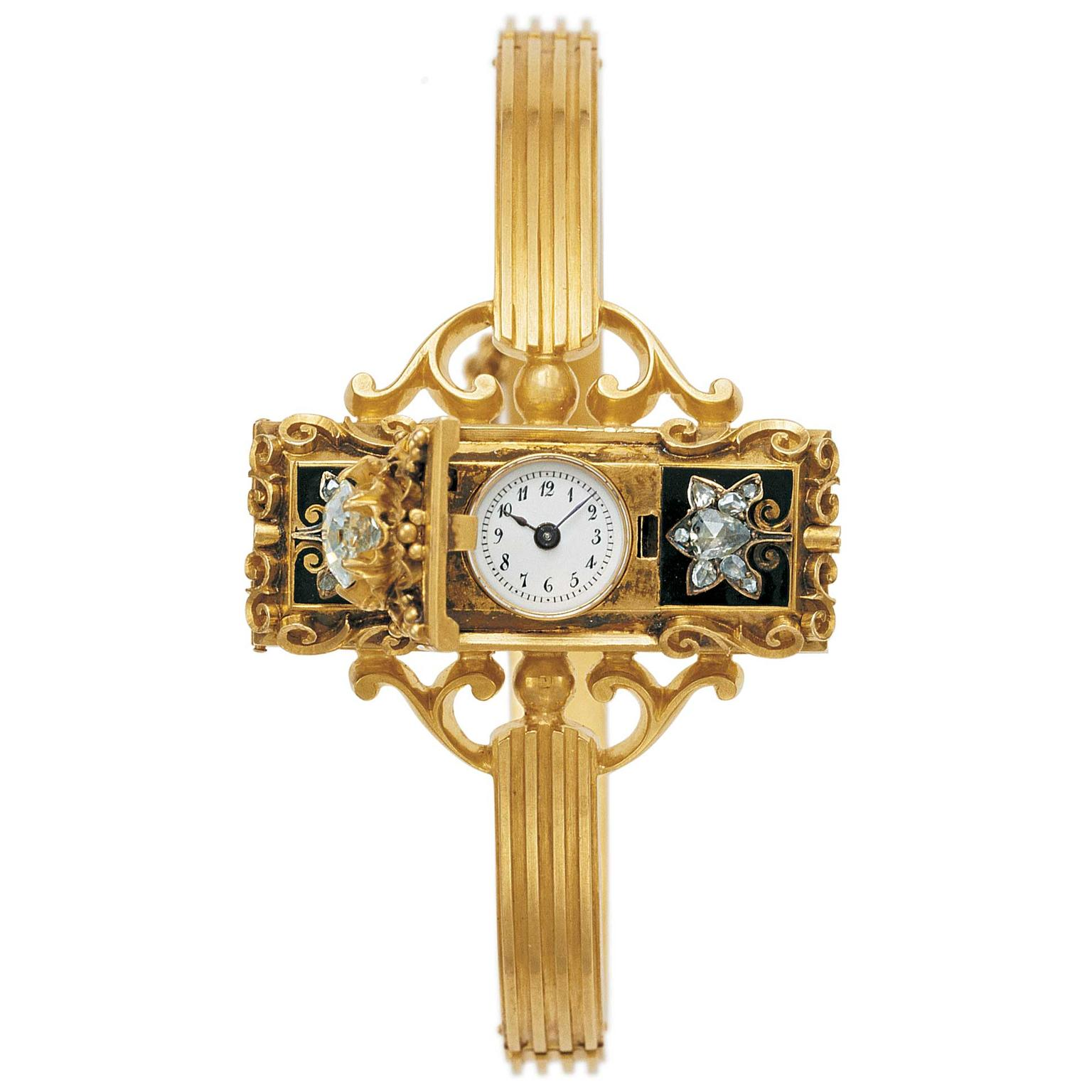 Patek Philippe first women's wristwatch 1868