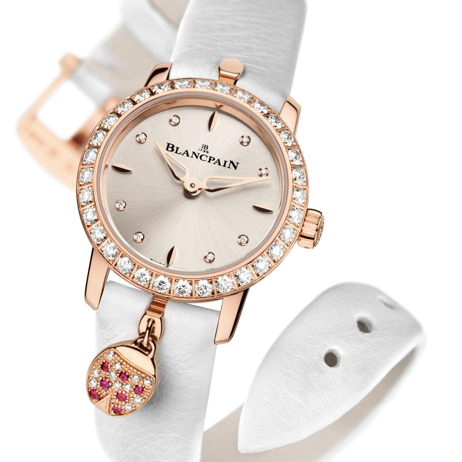 Blancpain Ladybird watch with diamonds
