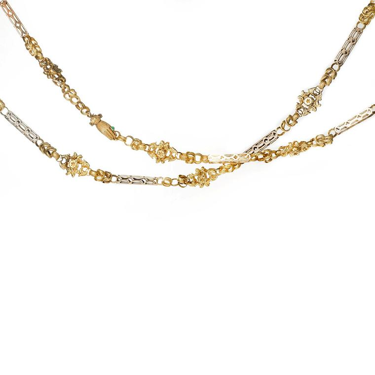 A La Veille Russie gold chain necklace