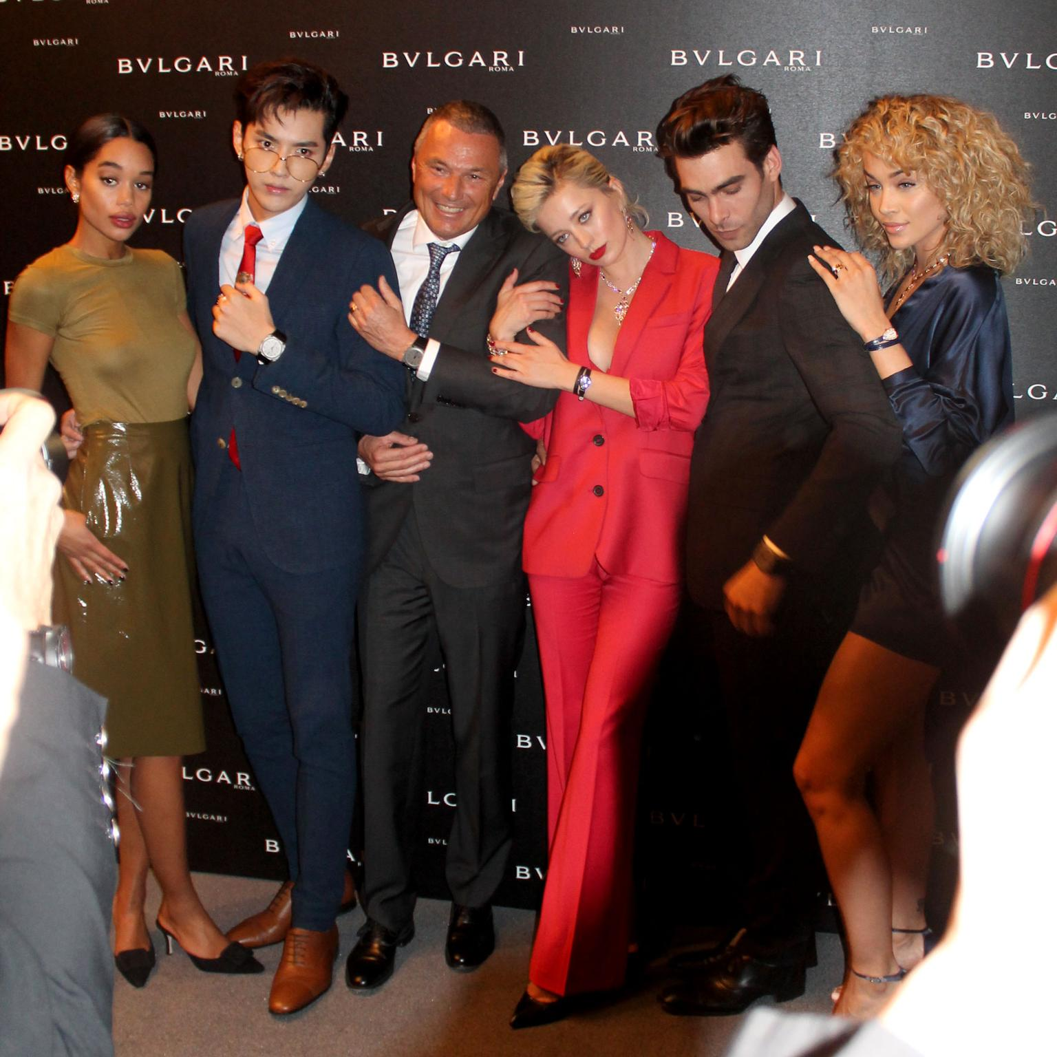 Bulgari celebrity launch party Baselworld 2017
