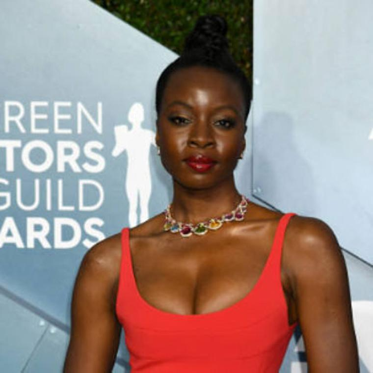 Danai Gurira Bulgari Jewels Sag  Awards 2020