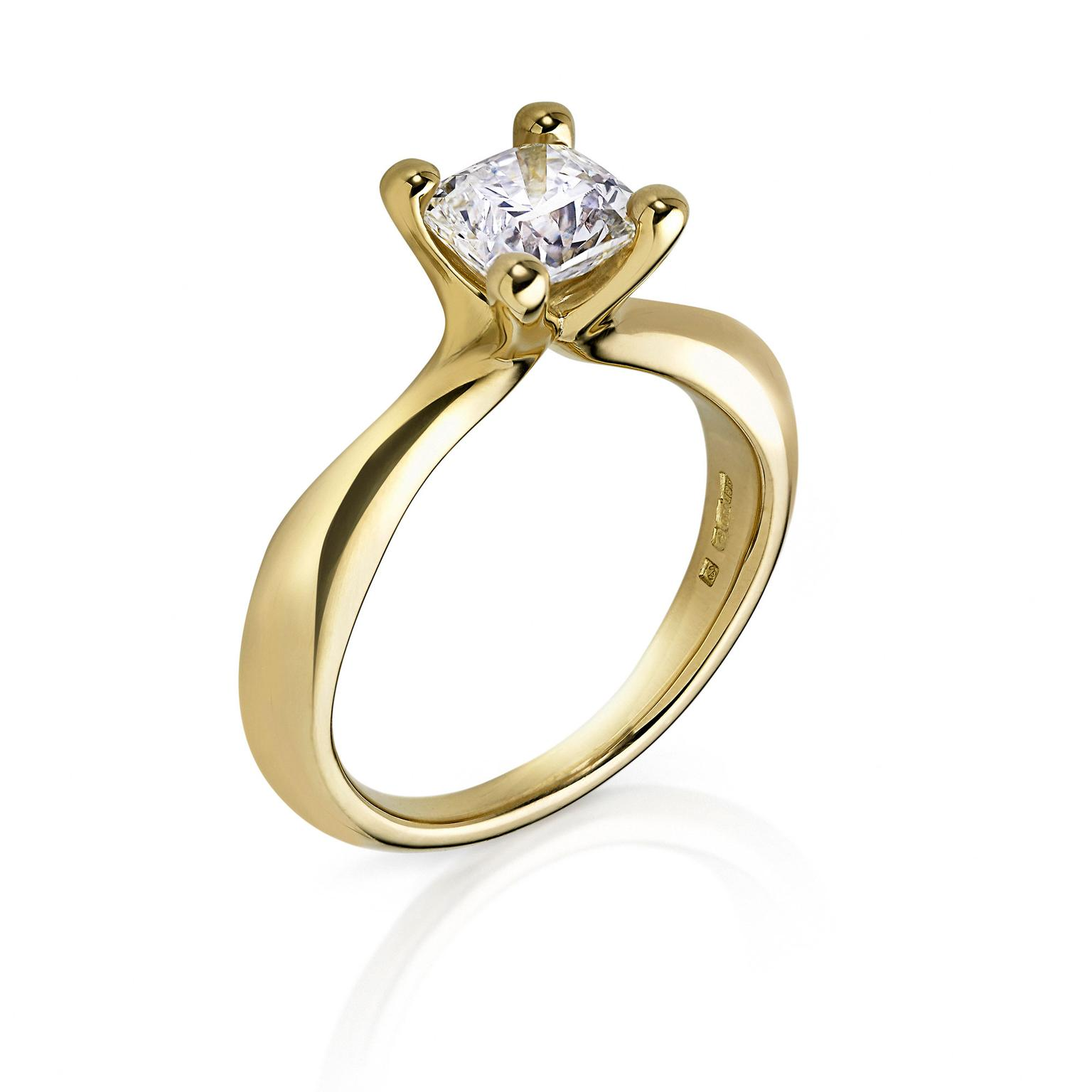 Arctic Circle Diamonds solitaire diamond ring