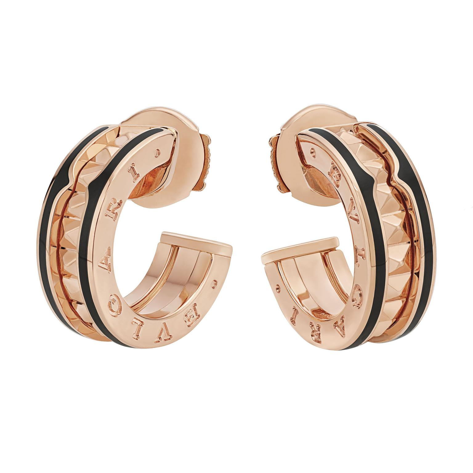 Bulgari BZero1 hoop earrings
