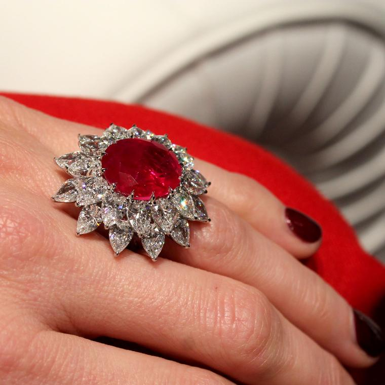 Bayco Burmese ruby ring