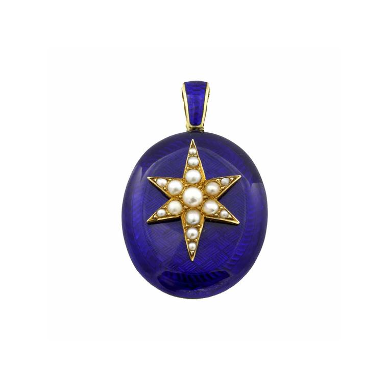 Bentley & Skinner star locket