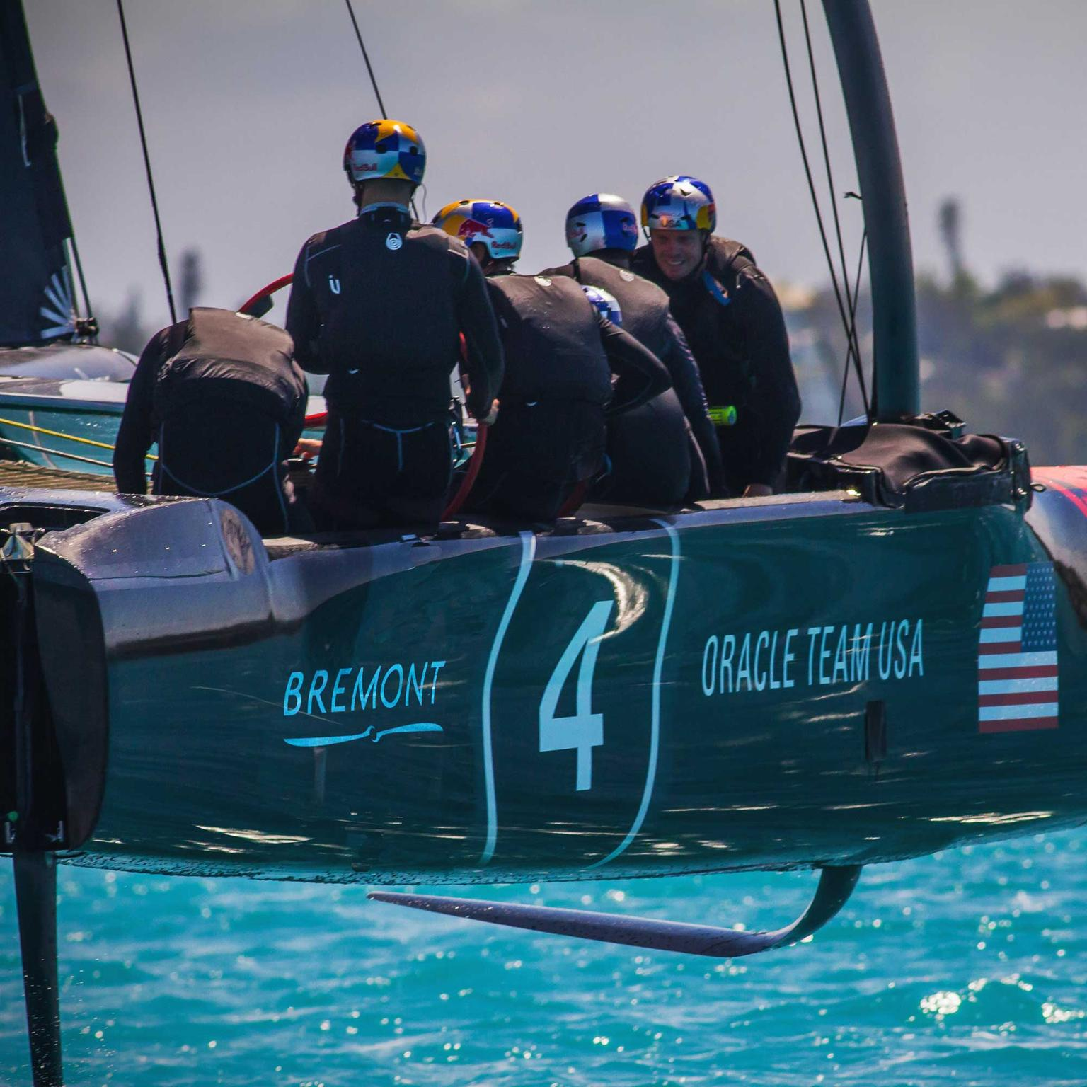 Bremont - official timing partner of ORACLE TEAM USA