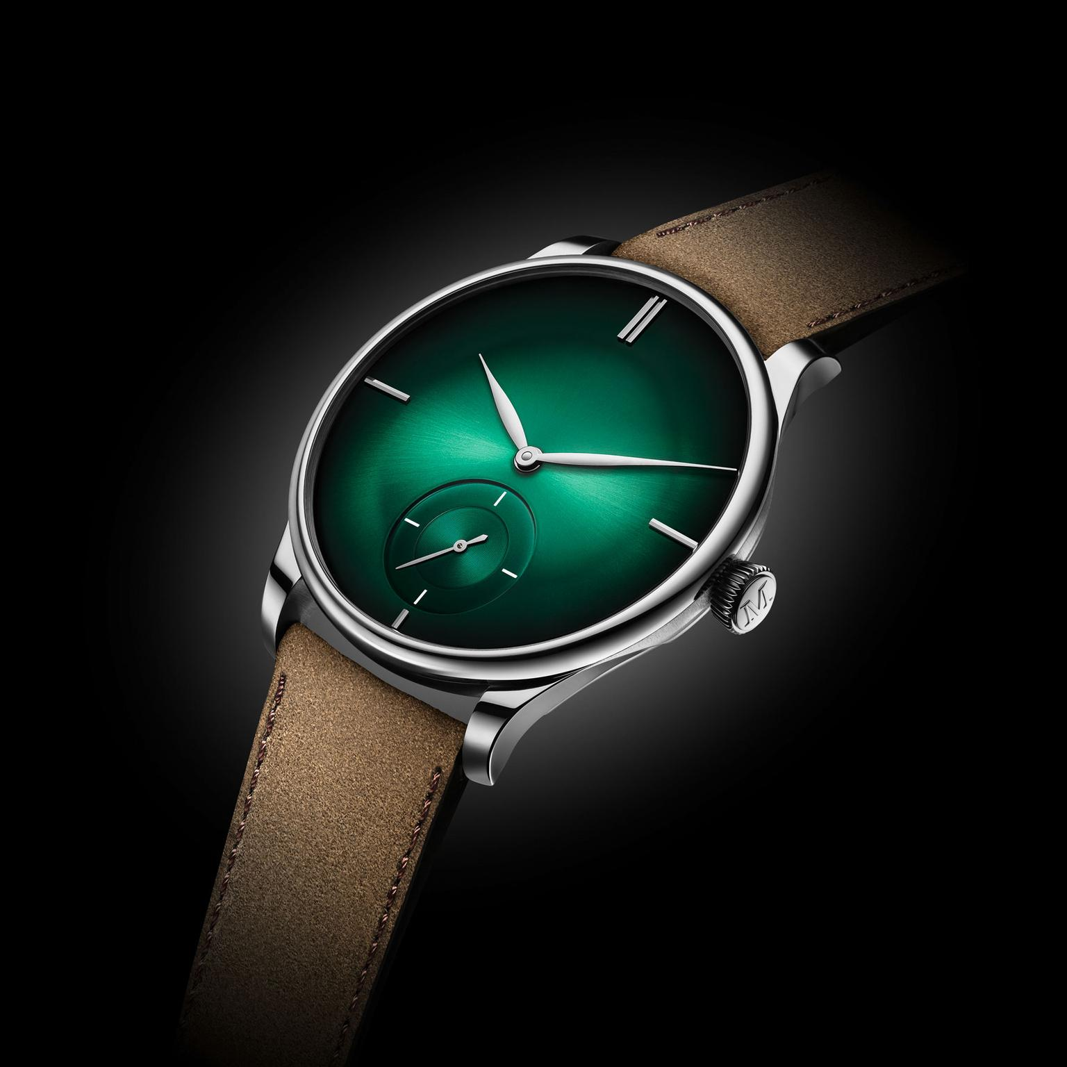 H. Moser & Cie Venturer Small Seconds XL Purity Cosmic Green watch